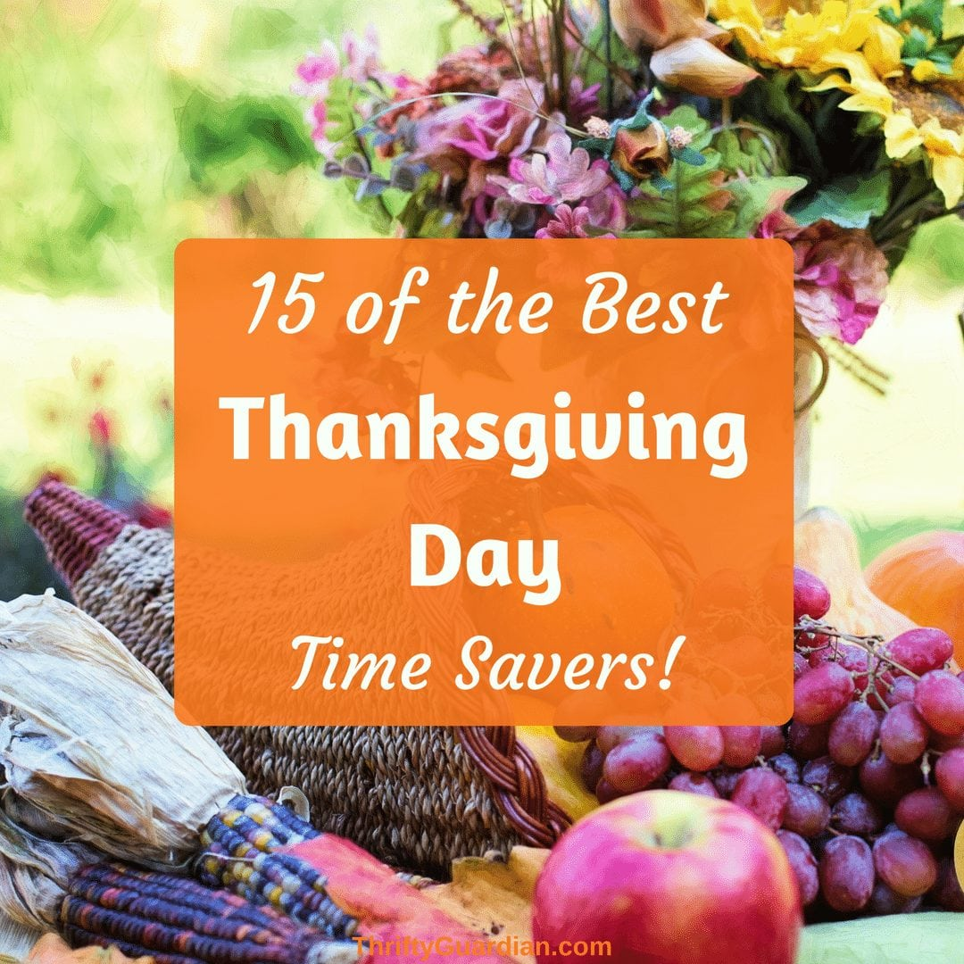 thanksgiving save time