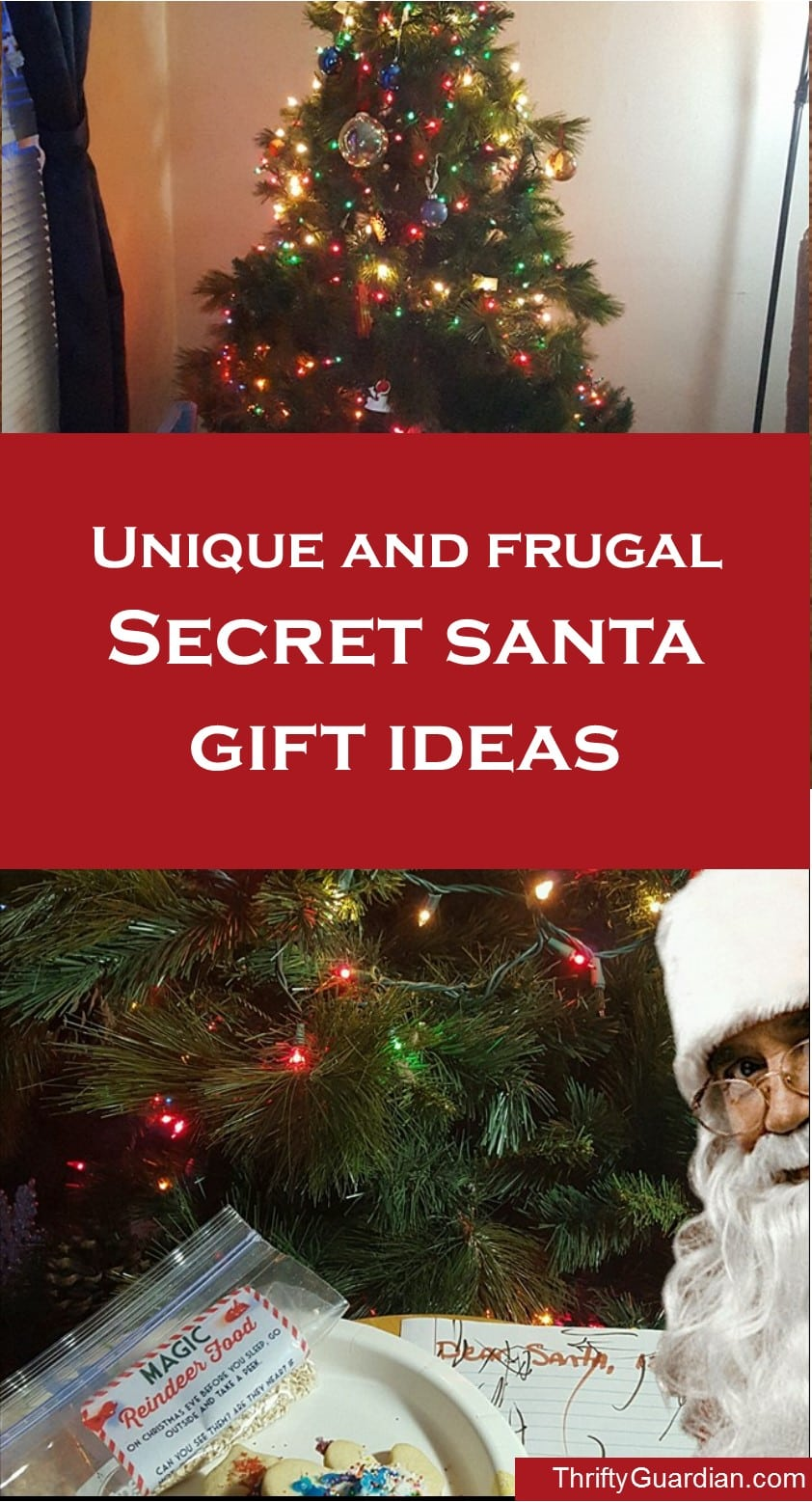 Secret Santa gift ideas, cheap secret santa gift ideas, inexpensive secret santa gift ideas, unique secret santa