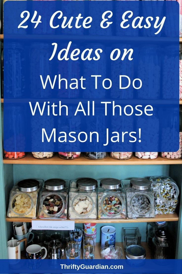 What to do with mason jars? Mason jars make for a lot of great uses - from bird feeders to snow globes to storage units, mason jars are wonderful for so many things! #masonjars #glassjars #diysnowglobe #diybirdfeeder #rootbeerfloat #DIYcandle