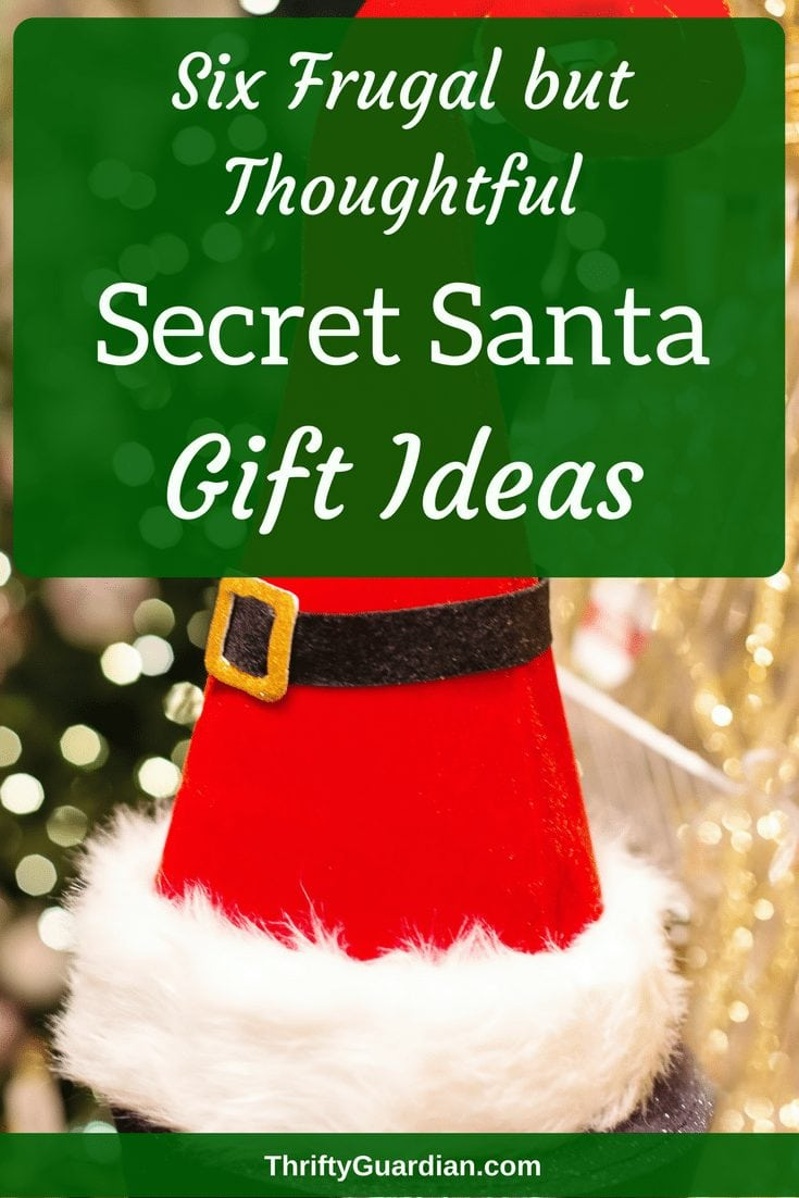 Inexpensive Secret Santa gift ideas that will seem like unique gift ideas, not cheap gift ideas! Save money on gifts this year by planning ahead!
