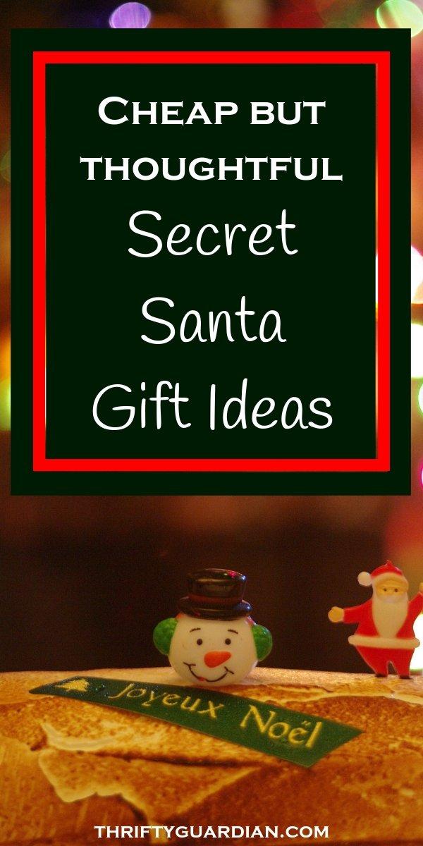 cheap but thoughtful secret santa gift ideas