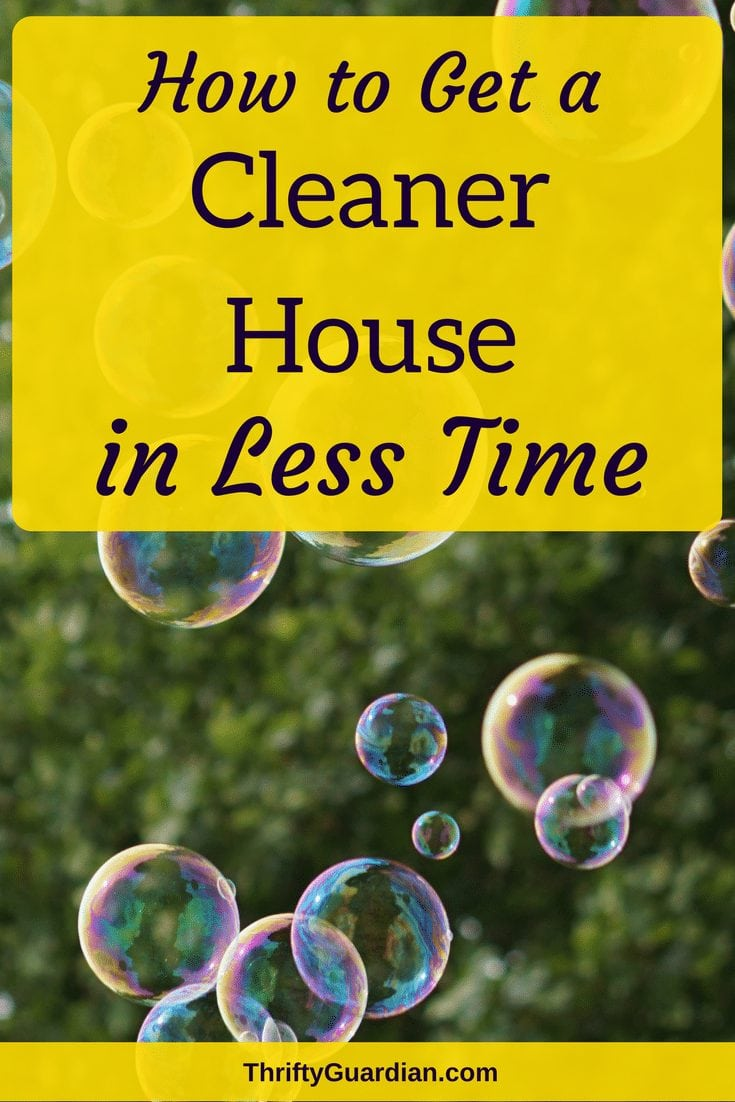 Tips on how to keep the house cleaner without spending more time tidying up! Cleaning cheat sheet to help you get more done in less time. #cleanhouse #housecleaning #tidyup #cleaningtips #organizationaltips #productivity #lifehacks #cleanup #chores