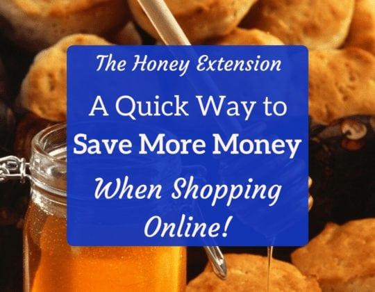 honey extension save money