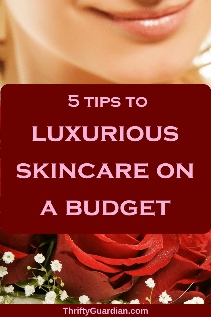 Frugal skincare tips and ideas