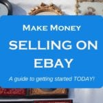 Make money on Ebay! Click through for a quick start guide on how to sell clothing and make money with ebay.