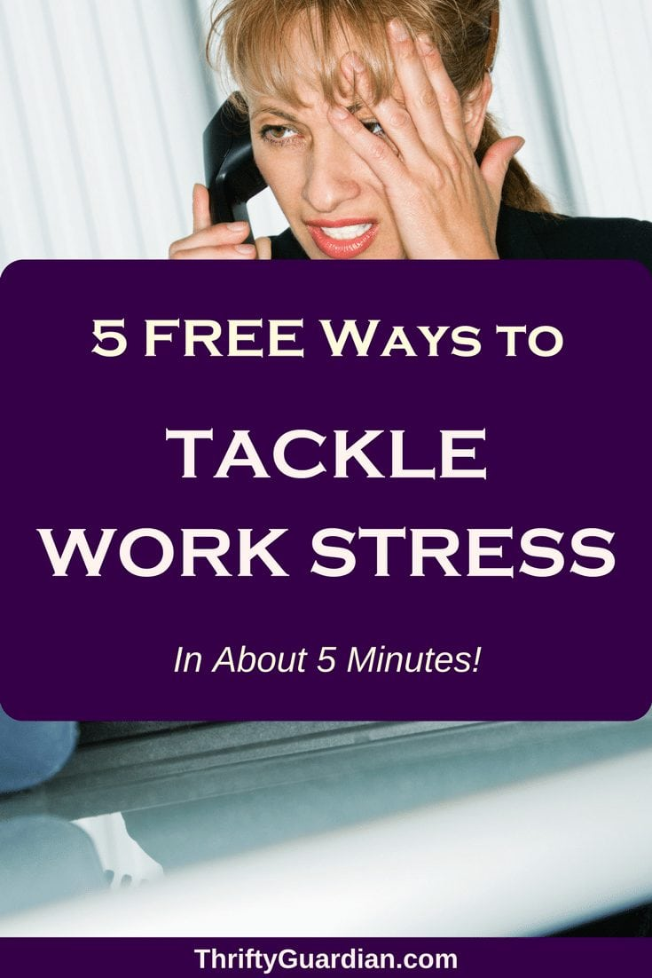 Eliminate work stress