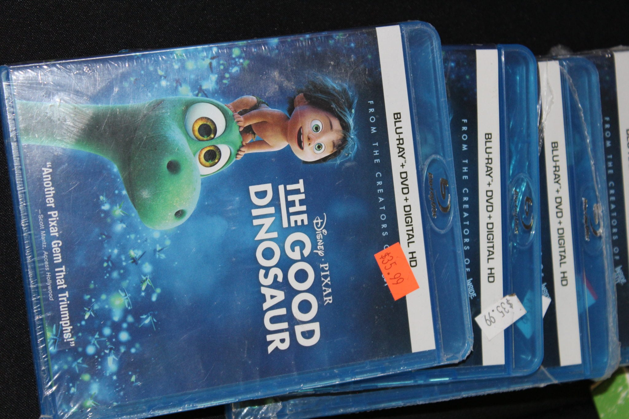 good dinosaur dvd case