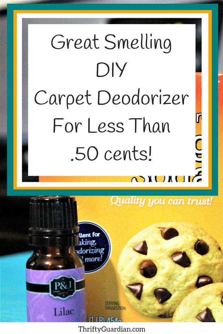 DIY Carpet Deodorizer with essential oil, trick to help your rugs be refreshed and eliminate odor!