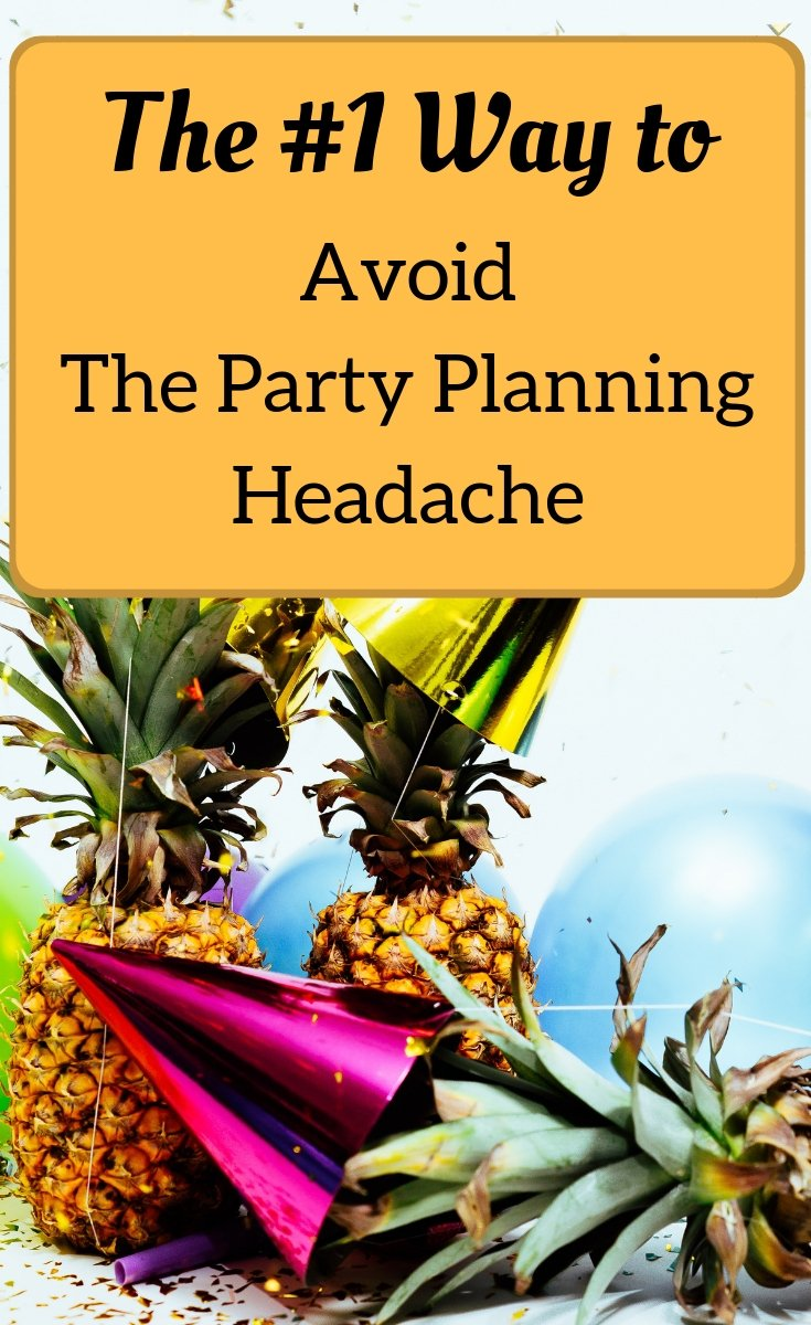 party planning tip special guest app